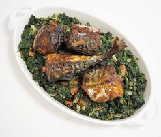 .or add some oven-fried mackerel to your stir-fried spinach (see previous post) for some more proteins and healthy fats. Yum! Permit me to flood this feed with some of the delicious food I have been enjoying this week.  #fish #mackerel #spinach #stirfry #237 #237blogger #ketodiet #africanfood #africanfoodblogger #food #team237 #ketogenic #ketoapproved #lowcarb #shapeupafrican - Inspirational and Motivational Ketogenic Diet Pins - Eat Keto Get Into Nutritional Ketosis - Discover LCHF to…