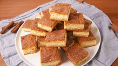 Crescent Cheesecake Bars  - Delish.com