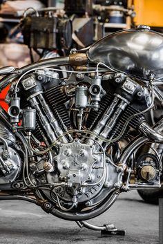It's one of those...       It's one of those days when you come home exhausted from work but you still have something to do befor... Motorcycle Engine, Motorcycle Art, Bike Art, Motos Vintage, Vintage Bikes, Cool Motorcycles, Vintage Motorcycles, Indian Motorcycles, Moto Fest