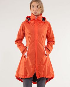 Ride on Rain Jacket $298  a jacket that is water resistant and designed for bikes. :D