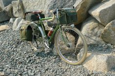 Loaded Rivendell, Rockport MA by Lovely Bicycle!, via Flickr