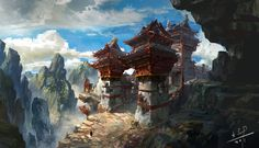 lost temple by xiaoxinart on deviantART
