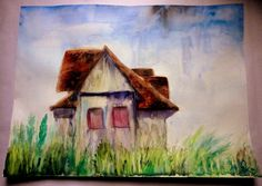 LONELY Watercolor painting by ArtbyEfka on Etsy