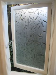 Etched Glass Wall Panel Healthcare Design Pinterest