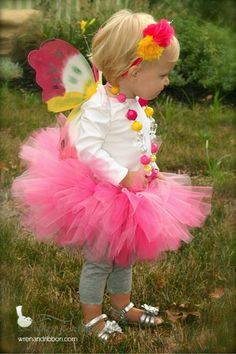 Tutu Cute Butterfly Fairy Costume -  Wren & Ribbon