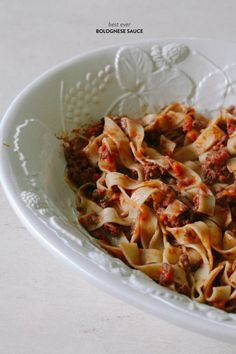 A great Bolognese: http://www.stylemepretty.com/living/2015/07/27/abbys-slam-dunk-party-recipes/