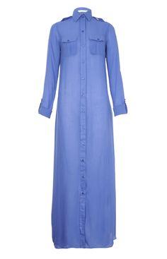 Aab UK Inky Blue Long Shirt : Standard view