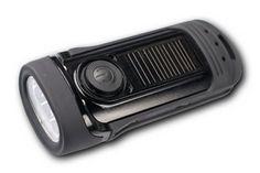 Barracuda - to wodoszczelna latarka LED, która sprawdzi się w każdych warunkach. Bateria ładowana solarnie, lub korbkowo. 3 tryby świecenia: 1 LED, 3 LED, 3 LED migający. 1 minuta pokręcania to aż 80 minut światła! Może służyć podczas nurkowania [do 5m]. / Barracuda - it's waterproof LED flashlight, which will examine in all conditions. Battery charging solar or dynamo way. 1 minute of winding gives up to 80 minutes of light! Can be used while diving [5m]. PLN69.99 / $24