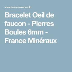 Bracelet Oeil de faucon - Pierres Boules 6mm - France Minéraux 14 Carat, France, Stones, Casket, Early French