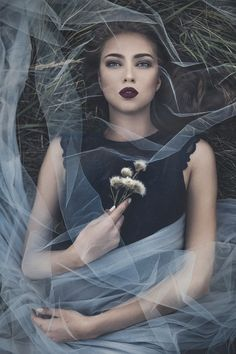 Exhausted by Laima - Celebrating Fashion Photo Contest Horror Photography, Halloween Photography, Fantasy Photography, Creative Photography, Portrait Photography, Smoke Bomb Photography, Photo Halloween, Foto Fantasy, Dark Beauty