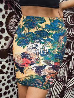 Ondori Pencil Skirt (WW 24HR $60AUD / US $48USD) by Black Milk Clothing