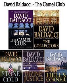 David Baldacci books The Camel Club series  http://www.mysterysequels.com/david-baldacci-books-in-order