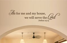 Joshua 24:15 totally going on my wall at home.