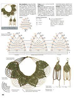 """Gargantilla de Crochet """"Brillante"""" Patron - Patrones Crochet"""