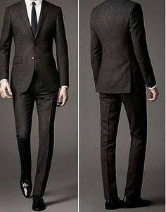 Ideas For Moda Masculina Terno Preto Gentleman Mode, Gentleman Style, Traje Slim Fit, Super Moda, Designer Suits For Men, Men's Suits, Formal Suits, Bespoke Tailoring, Mens Fashion Suits