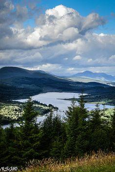 Loch Garry, Scotland.
