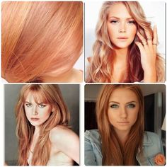 Blondes are always fun, and probably the most popular summer hair color. But as the sunny season comes to its close, most of us are looking for a change. These examples of strawberry-toned blondes ...