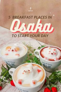 While we have no rice and raw egg here, we have managed to pick up some Osaka cafés that roughly fall into several categories: pancakes, local, and bakery, as follows. Here are a few spots serving up tasty breakfasts in Osaka!☕️🥐#JapanByFood#Japan#JapanTravel#TravelJapan#JapaneseFood#JapaneseCulture#JapanEats#Cafe#JapanFood #Breakfast #Osaka #Tokyo #Kyoto #Coffee #Foodie #FoodTour #Travel #TravelTips #TravelHacks Japanese Culture, Japanese Food, Japan Destinations, Best Breakfast, Japan Travel, Osaka, Kyoto, Tokyo, Pancakes