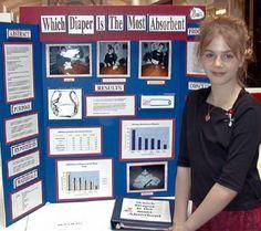 diaper absorption science fair