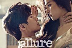 """Song Jae Rim y Kim So Eun de """"We Got Married"""", son cercanos e íntimos en sesión para Allure"""