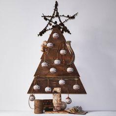 Un sapin de Noël 100% bois