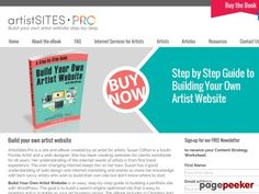 Build your own artist website | A step-by-step guide