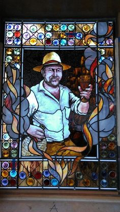 Stained glass by Jim Amderson