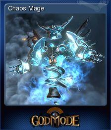 Cromo de Steam «Chaos Mage» de God Mode