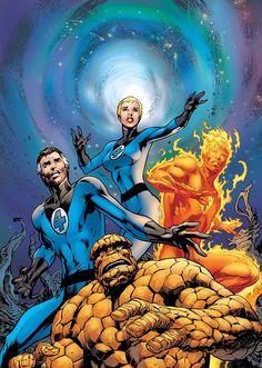 Alan Davis. Fantastic Four