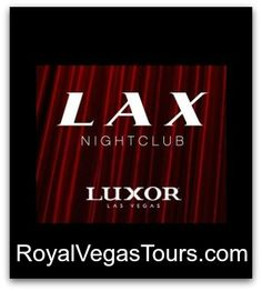 LAX Nightclub at the Luxor is the best venue for Hip Hop music in Vegas!  #LAXNightclub #BestVegasHipHop #VegasVIP