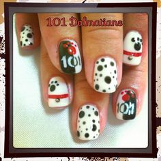 "Disney nails ""101 Dalmatians"""