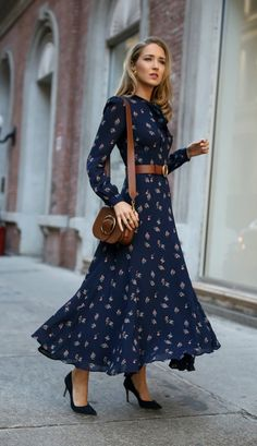 6 Ways To Style Waist Belt For Dress For Right Occasion - outfits - Fashion Mode, Fashion Blogger Style, Modest Fashion, Womens Fashion, Work Fashion, Trendy Dresses, Casual Dresses, Dresses For Work, Summer Dresses