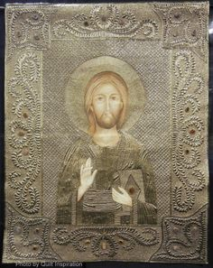 Christ in Gold by Laurie Tigner (Rapid City, SD).  2014 Road to California, photo by Quilt Inspiration
