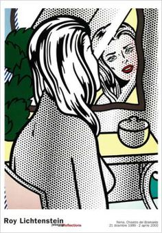 Nude at vanity - Roy Lichtenstein