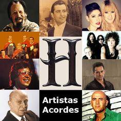 Acordes D Canciones: H (Lista de Artistas con Acordes)