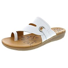 Welcome in relaxed style and comfort with the Baretraps Jones sandals. With its Leather upper and Man-Made sole, these sandals promise superb comfort, lasting support, and durable wear. Toe Ring Sandals, Toe Rings, Ankle Strap Sandals, Women's Shoes Sandals, Women Sandals, Shoes Women, Leather Slippers, Leather Sandals, Gentleman Shoes