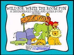 Wild For Write the Room Fun Differentiated Common Core Freebie - Marsha McGuire - TeachersPayTeachers.com