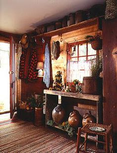 Home & Interior Design: Style Guide: Early American, Primitive