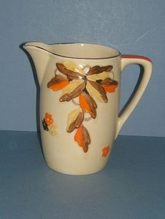 Decadent Deco ... 1920s Art Deco Hand Painted Myott Vase Pattern 24 by BiminiCricket, $45.00