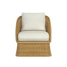 AERIN East Hampton Outdoor Club Chair