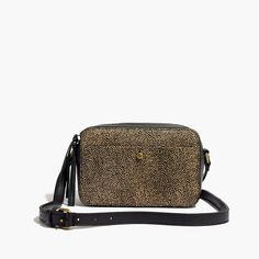Madewell The Manchester Crossbody Bag In Calf Hair Vegetable Tanned Leather Cross Body Handbags