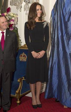 Todos los looks de Kate Middleton en su royal tour por Nueva Zelanda
