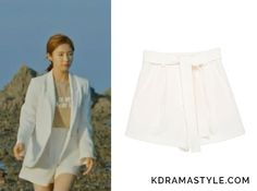 Yoon So Ah (Shin Se Kyung 신세경) wears cream shorts with a matching blazerin Episode 14 of Bride of the Water God. They aretheFrontrow [Drama Collection] Relaxed Flare Shortsin Cream. Get themHERE for $98. Available from: W Concept– $98 ...