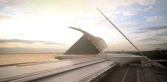 Santiago Calatrava // MILWAUKEE ART MUSEUM, WISCONSIN, USA