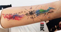 water_color_compass_tattoo_by_enhancertattoo-d7kfd3f.jpg (983×521)