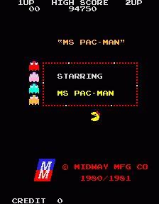 Pac-Man Screenshots for Arcade - MobyGames Original Pacman, Retro Arcade, Arcade Machine, Retro Video Games, Donkey Kong, Pinball, Arcade Games, Scores