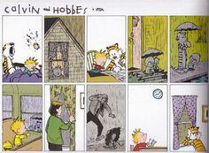 Calvin & Hobbes Friendship