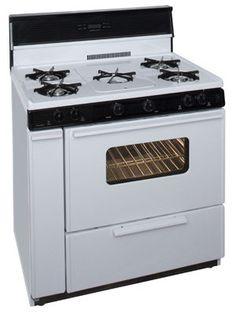 White Oven Range SLK249WP