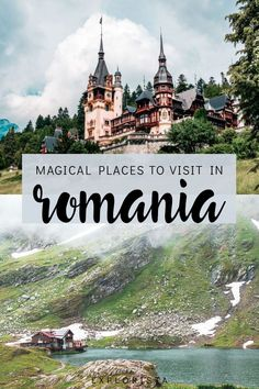 These are the BEST places to visit in Romania to add to your bucket list! #romania #romaniatravel #placestovisitinromania