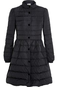 RE* VALENTIN* Inspired Black Quilted Down Coat